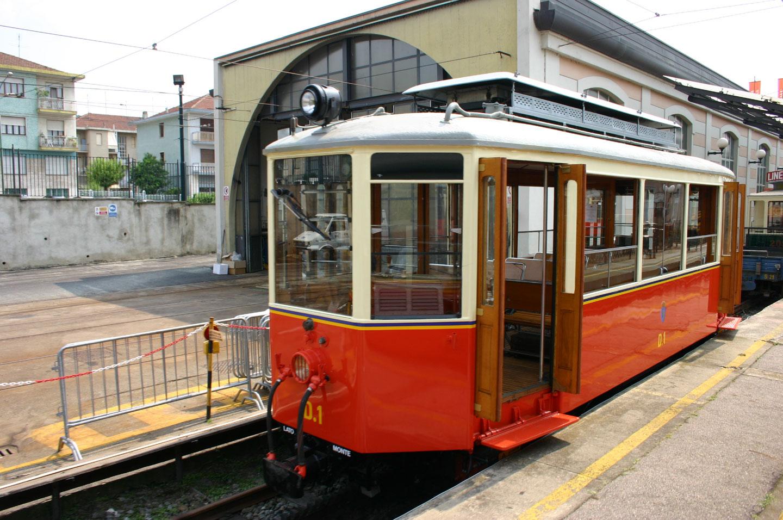 Torino Tramvia Sassi Superga