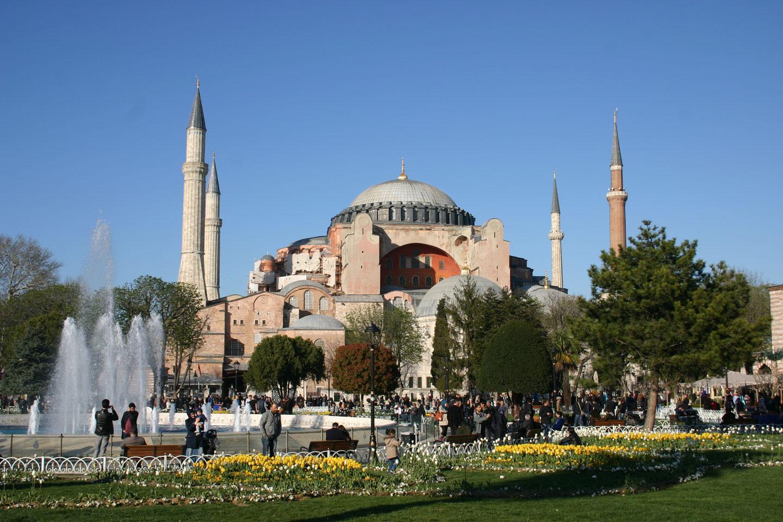 Istanbul Turchia Santa Sofia