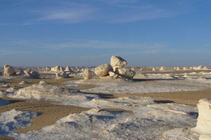 Egitto deserto Bianco