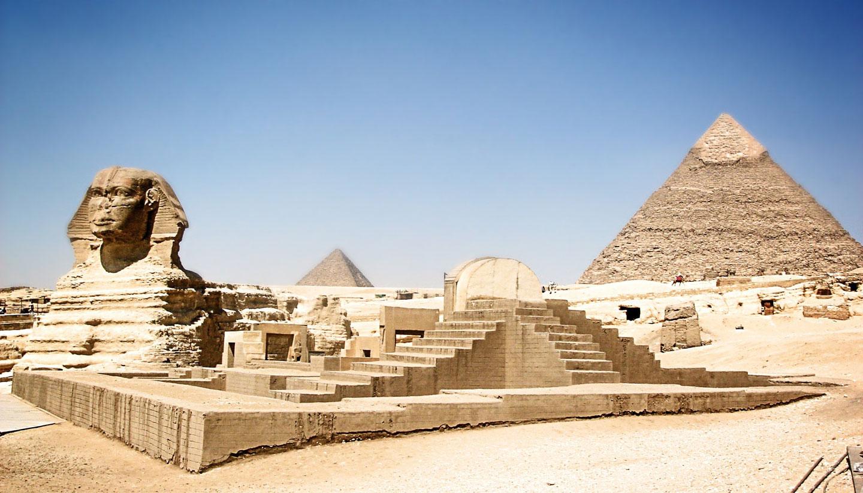 Egitto piramidi Sfinge
