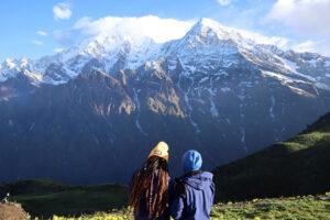 Nepal Himalaya Himal Mardi paesaggio
