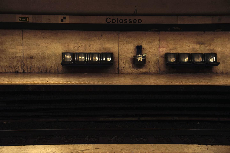 Metropolitana Roma Colosseo