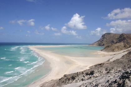 Socotra Qalansia Spiaggia