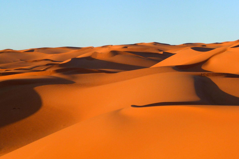 Libia deserto del Sahara dune