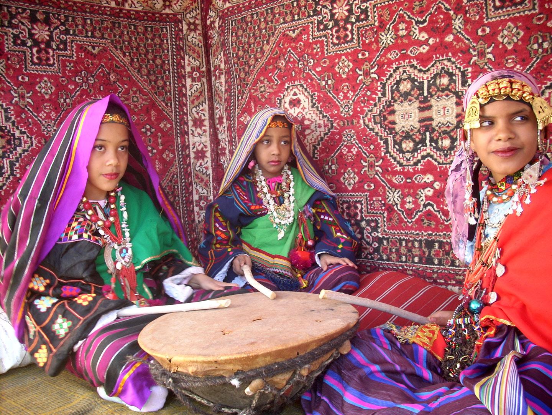 Ghadames donne Libia